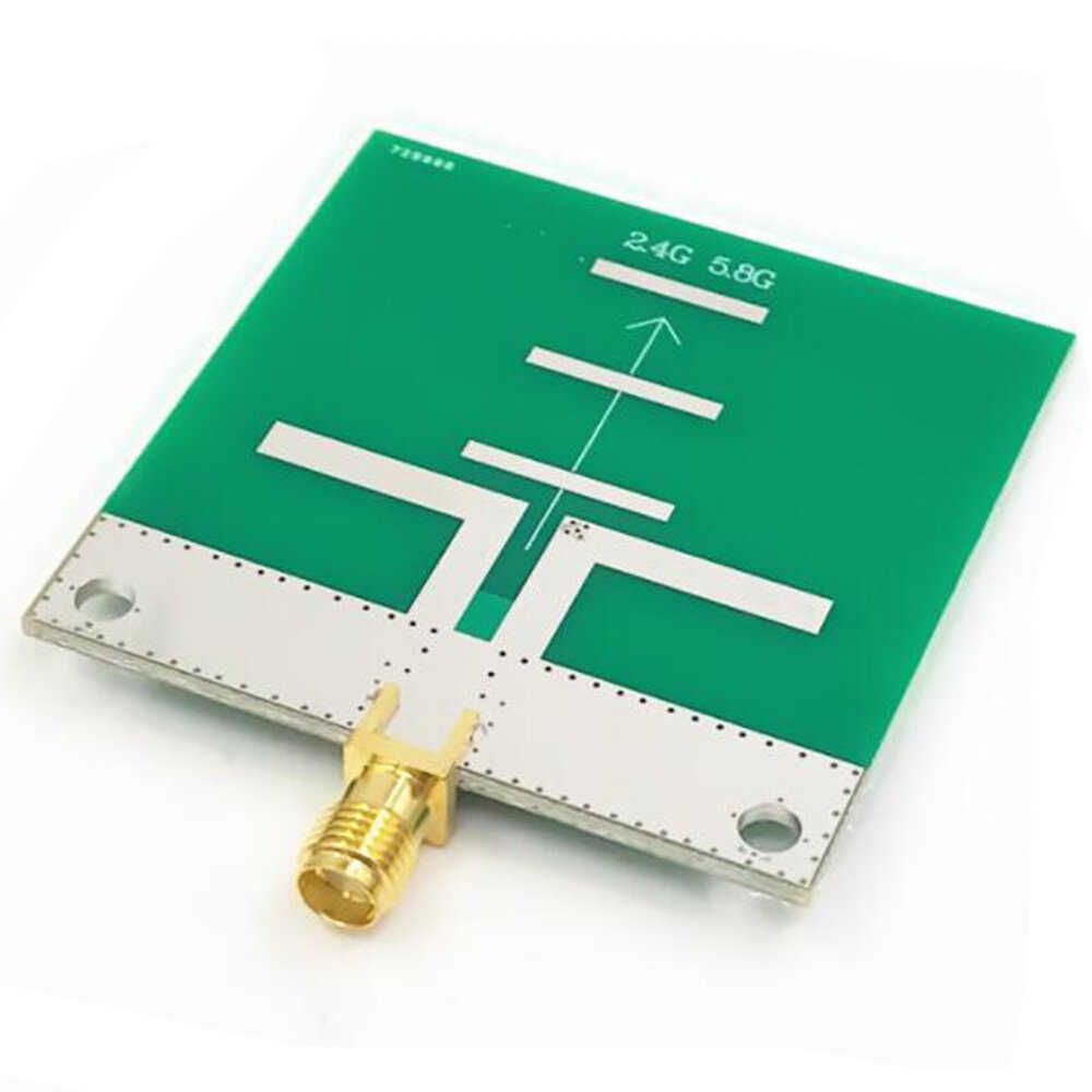 PINXIN 2.4Ghz/5.8Ghz 6-7dB 20W 50Ω SMA Female WIFI Dual Frequency FPV Antenna for VTX Transmitter