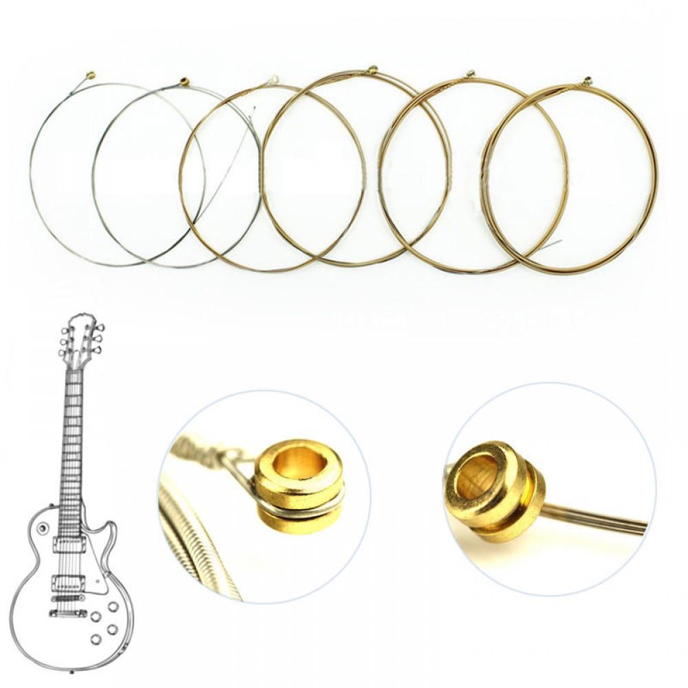 1 Set Nanoweb 12002 Light Electric Guitar String Coating Antirust