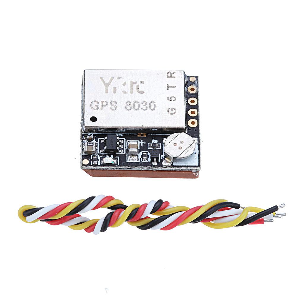 YRRC Mini GPS8030 GPS GLONASS BEIDOU GALILEO SBAS QZSS Module UART TTL