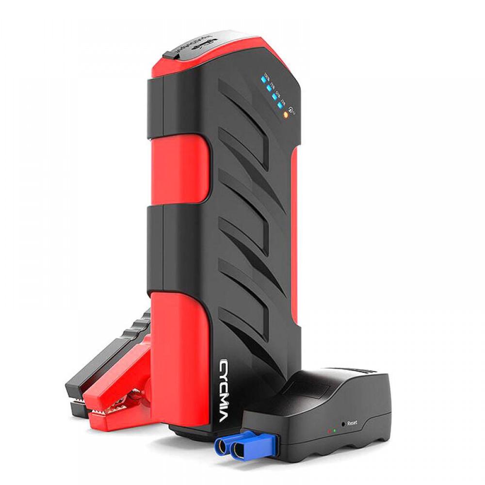 11000mAh Car Emergency Power Supply Dual Fast Charging Tech Jump Starter