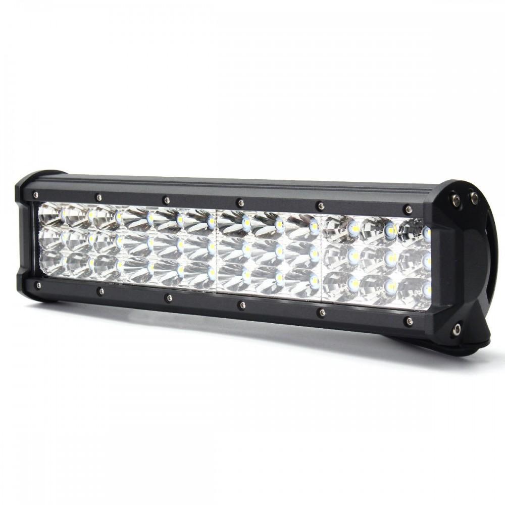 12 Inch 180W LED Light Bar Flood Spot Combo Off Road Car Truck 10-30V
