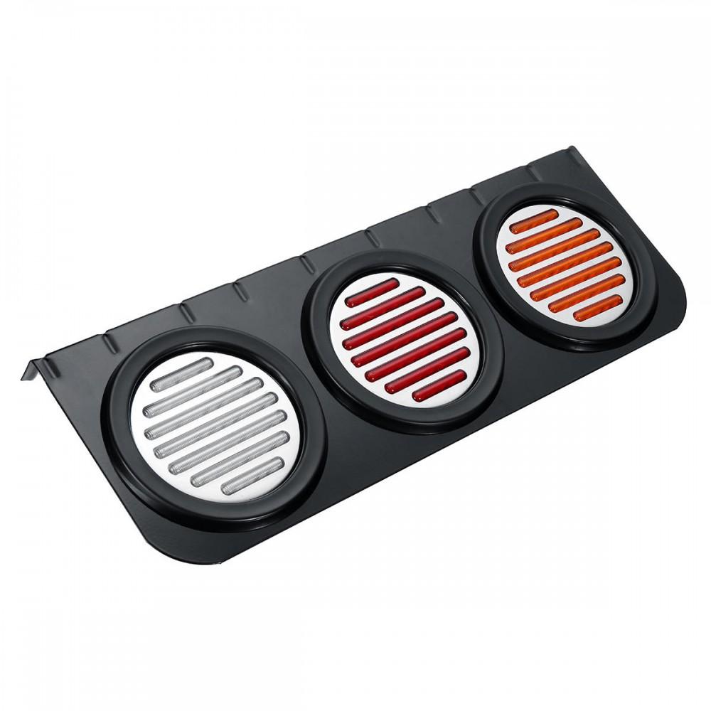 12V Rear Stop LED Tail Lights Brake Turn Signal Lamp Trailer Truck Car Universal
