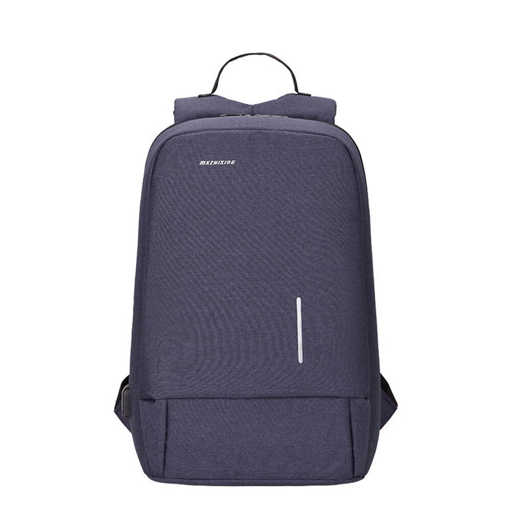 0036 Business Backpack Laptop Bag Shoulders Storage Bag with USB Waterproof Schoolbag Men Women Computer Bag