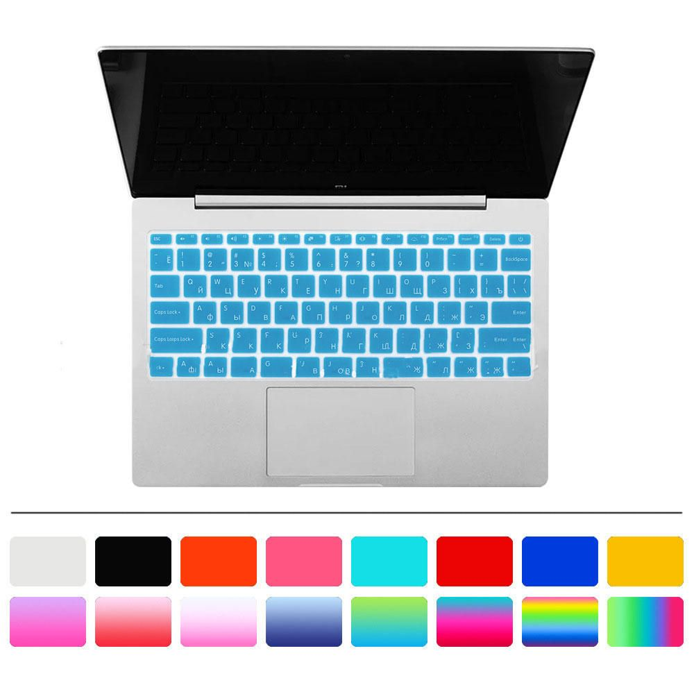 Laptop TPU Keyboard Cover Computer Keyboard Protective Film For 15 Inch Russian