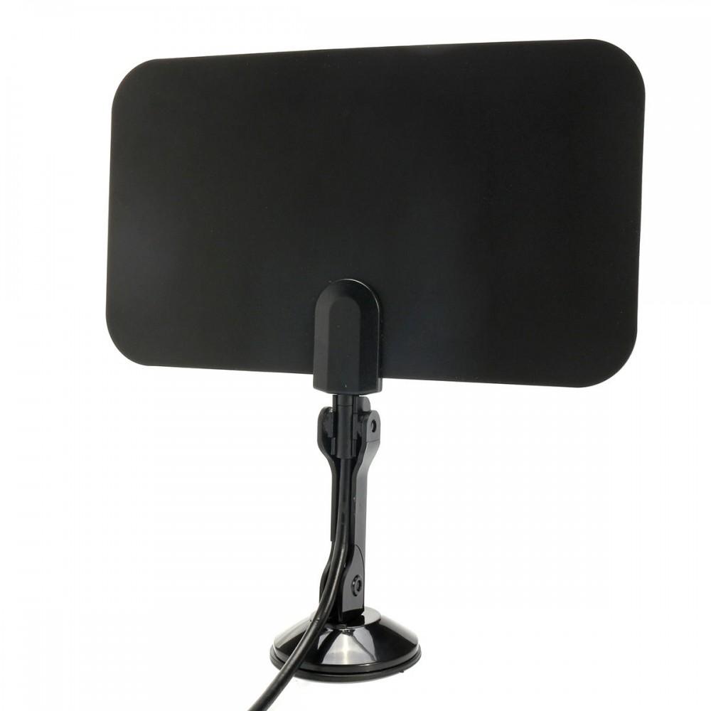 1.5M Flat Indoor Digital TV Antenna High Def for HDTV VHF UHF TVFox TVScout
