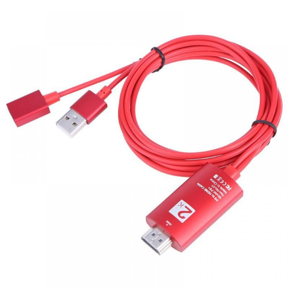 1080P USB to HD Converter 4K Screen Synchronization Cable for Iphone Android Huawei Samsung